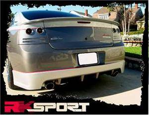 HEMI CARBON FIBER PARTS - Hemi Carbon Fiber Lip & Skirt - RK Sport - RK Sport Heritage Edition Charger Rear Spoiler: Dodge Charger 2005 - 2010