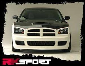 HEMI EXTERIOR PARTS - Hemi Body Kits - RK Sport - RK Sport Front Bumper: Dodge Charger 2006 - 2010