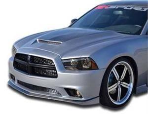 Dodge Charger Exterior Parts - Dodge Charger Hood - RK Sport - RK Sport Carbon Fiber Blister Ram Air Hood: Dodge Charger 2011 - 2014