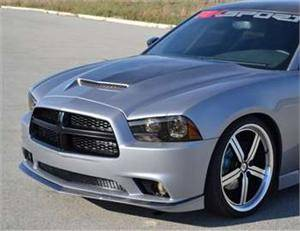 Dodge Charger Carbon Fiber Parts - Dodge Charger Carbon Fiber Spoiler - RK Sport - RK Sport Carbon Fiber Front Facia: Dodge Charger 2011 - 2014