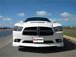 HEMI EXTERIOR PARTS - Hemi Lips & Side Skirts - RK Sport - RK Sport Front Facia: Dodge Charger 2011 - 2014