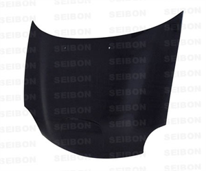 Dodge Neon SRT4 Exterior Parts - Dodge Neon SRT4 Hoods - Seibon - Seibon OEM Carbon Fiber Hood: Dodge Neon SRT4 2003 - 2005