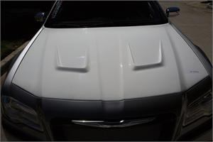 Chrysler 300 Exterior Parts - Chrysler 300 Hood - TruFiber - TruFiber A71 Fiberglass Hood: Chrysler 300 2011 - 2018