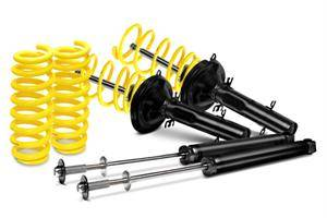 Dodge Challenger Suspension Parts - Dodge Challenger Suspension Kit - ST Suspensions - ST Suspensions Sport-tech Lowering Kit: 300C / Challenger / Charger / Magnum 2WD V8 2005 - 2010