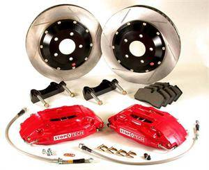 Dodge Magnum Brake Upgrades - Dodge Magnum Big Brake Kit - Stoptech - Stoptech Front Big Brake Kit: Chrysler 300C / Dodge Challenger / Charger / Magnum 5.7L Hemi 2005 - 2010