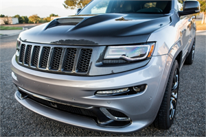 Jeep Grand Cherokee Exterior Parts - Jeep Grand Cherokee Hood - TruCarbon - TruCarbon A23 Carbon Fiber Hood: Jeep Grand Cherokee 2011 - 2020