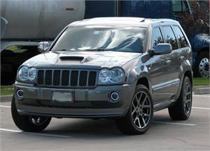 TruFiber - TruFiber A23 Fiberglass Hood: Jeep Grand Cherokee 2005 - 2010