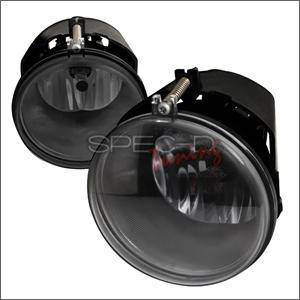 Dodge Durango Lighting Parts - Dodge Durango Fog Lights - Spec D - Spec D Fog Lights (Smoke): Grand Cherokee / Dakota / Durango 2005 - 2008