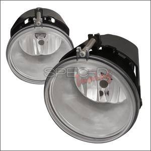 Dodge Durango Lighting Parts - Dodge Durango Fog Lights - Spec D - Spec D Fog Lights (Clear): Grand Cherokee / Dakota / Durango 2005 - 2008
