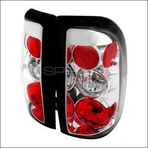 Spec D - Spec D Euro Tail Lights (Chrome): Dodge Dakota 1997 - 2004