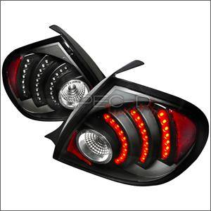 HEMI LIGHTING PARTS - Hemi Tail Lights - Spec D - Spec D LED Tail Lights (Black): Dodge Neon 2003 - 2005
