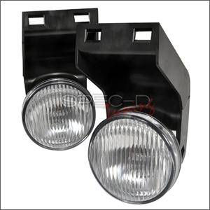 HEMI LIGHTING PARTS - Hemi Fog Lights - Spec D - Spec D Fog Lights (Clear): Dodge Ram 1994 - 2001
