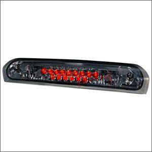 HEMI LIGHTING PARTS - Hemi Tail Lights - Spec D - Spec D LED Third Brake Light (Smoke): Dodge Ram 2002 - 2008
