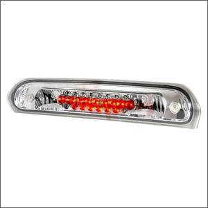 HEMI LIGHTING PARTS - Hemi Tail Lights - Spec D - Spec D LED Third Brake Light (Chrome): Dodge Ram 2002 - 2008