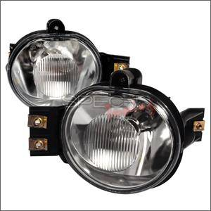 HEMI LIGHTING PARTS - Hemi Fog Lights - Spec D - Spec D Fog Lights (Clear): Dodge Ram 2002 - 2008