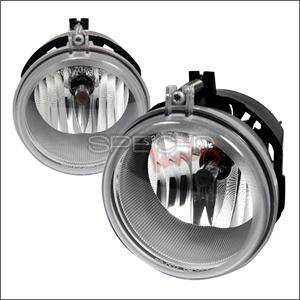 Spec D - Spec D Fog Lights (Clear): Dodge Charger 2005 - 2010