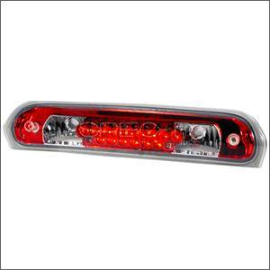 HEMI LIGHTING PARTS - Hemi Tail Lights - Spec D - Spec D LED Third Brake Light (Red): Dodge Ram 2002 - 2008