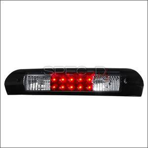 Spec D - Spec D LED Third Brake Light (Black): Dodge Ram 2002 - 2008