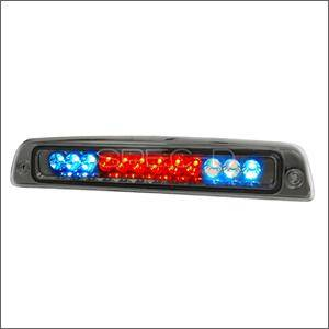 HEMI LIGHTING PARTS - Hemi Tail Lights - Spec D - Spec D LED Third Brake Light (Smoke): Dodge Ram 1994 - 2001
