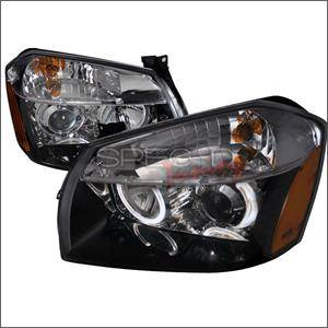 HEMI LIGHTING PARTS - Hemi Headlights - Spec D - Spec D LED projector HeadLights (Black): Dodge Magnum 2005 - 2007