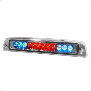 HEMI LIGHTING PARTS - Hemi Tail Lights - Spec D - Spec D LED Third Brake Light (Chrome): Dodge Ram 1994 - 2001