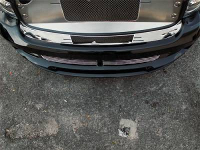 HEMI EXTERIOR PARTS - Hemi Trim Accessories - American Car Craft - American Car Craft Front Bumper Cap: Dodge Ram (incl. SRT10) 2004 - 2006