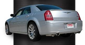 Corsa - Corsa Exhaust System: Chrysler 300C / Dodge Charger / Magnum 6.1L SRT8 2005 - 2010