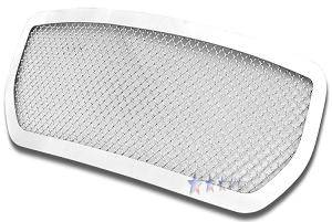 HEMI EXTERIOR PARTS - Hemi Grilles - APS - APS Stainless Mesh Grille: Dodge Magnum 2005 - 2008 (All Models)