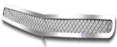 HEMI EXTERIOR PARTS - Hemi Grilles - APS - APS Stainless Mesh Lower Billet Grille: Dodge Charger 2006 - 2010