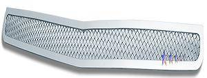 HEMI EXTERIOR PARTS - Hemi Grilles - APS - APS Bumper Stainless Mesh Grille: Dodge Charger 2006 - 2010 (All Models)