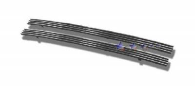 HEMI EXTERIOR PARTS - Hemi Grilles - APS - APS Stainless Steel Bumper Grille: Dodge Magnum 2005 - 2007 (non SRT8)