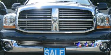 Dodge Ram Exterior Parts - Dodge Ram Grille - APS - APS Bumper Grille: Dodge Ram 2002 - 2005