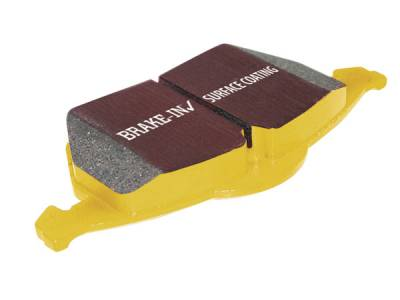 HEMI BRAKE PARTS - Hemi Brake Pads - EBC - EBC Yellowstuff Rear Brake Pads: Dodge Ram SRT10 2004-2006