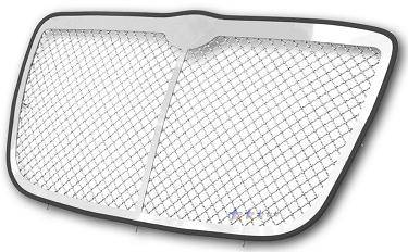 HEMI EXTERIOR PARTS - Hemi Grilles - APS - APS Wire Mesh Grille w/ Vertical Center Bar: Chrysler 300 / 300C 2005 - 2010