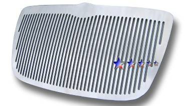 HEMI EXTERIOR PARTS - Hemi Grilles - APS - APS Vertical Machined Billet Grille: Chrysler 300 / 300C 2005 - 2010