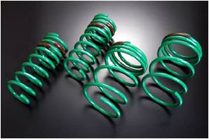 Dodge Charger Suspension Parts - Dodge Charger Lowering Springs - Tein - Tein Stech Lowering Springs: Dodge Charger 2006 - 2010
