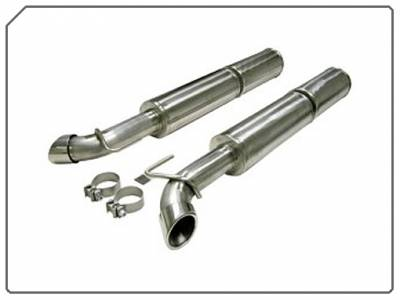 Dodge Viper Engine Performance - Dodge Viper Exhaust System - Corsa - Corsa Exhaust System: Dodge Viper 8.3L SRT10 2003 - 2008