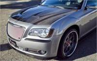 CHRYSLER 300 / 300C PARTS - Chrysler 300 Carbon Fiber Parts - Chrysler 300 Carbon Fiber Hood