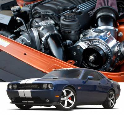 HEMI SUPERCHARGER KIT - Hemi Supercharger Kits - Procharger - Procharger Supercharger Kit: Dodge Challenger 6.4L SRT8 2011 - 2014