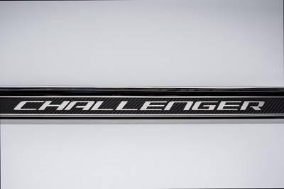 American Car Craft - American Car Craft Carbon Fiber Door Sills: Dodge Challenger 2008 - 2021 (All Models) - Image 4