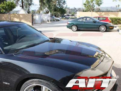 AIT Racing - AIT Racing Challenger Style Functional Cooling Hood: Dodge Charger 2006 - 2010 - Image 3