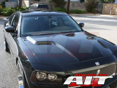 AIT Racing - AIT Racing Challenger Style Functional Cooling Hood: Dodge Charger 2006 - 2010 - Image 5