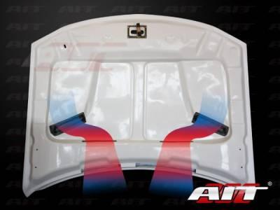 AIT Racing - AIT Racing Challenger Style Functional Cooling Hood: Dodge Charger 2006 - 2010 - Image 6