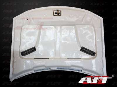 AIT Racing - AIT Racing Challenger Style Functional Cooling Hood: Dodge Charger 2006 - 2010 - Image 7