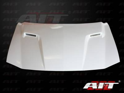 AIT Racing - AIT Racing Challenger Style Functional Cooling Hood: Dodge Charger 2006 - 2010 - Image 10