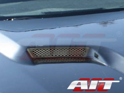 AIT Racing - AIT Racing Challenger Style Functional Cooling Hood: Dodge Charger 2006 - 2010 - Image 11
