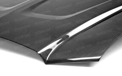 Anderson Composites - Anderson Composites OEM Carbon Fiber Hood: Dodge Charger 2011 - 2014 - Image 4