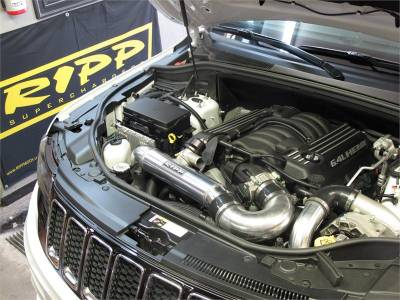 HEMI SUPERCHARGER KIT - Hemi Supercharger Kits - Ripp - Ripp Supercharger Kit: Jeep Grand Cherokee 6.4L SRT8 2012 - 2014
