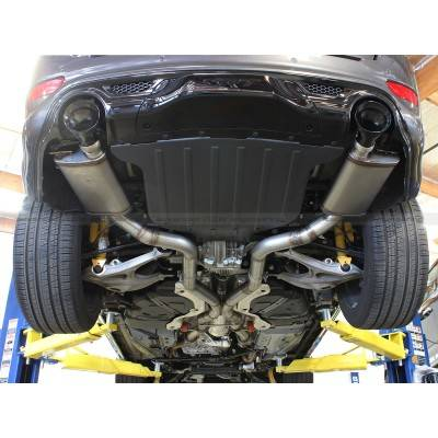 5.7L / 6.1L / 6.4L Hemi Engine Parts - Hemi Exhaust Systems - AFE Power - AFE Mach Force Exhaust System: Jeep Grand Cherokee 6.4L SRT8 2012 - 2016