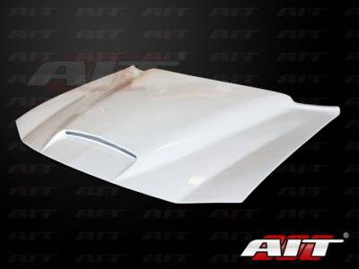 HEMI EXTERIOR PARTS - Hemi Hoods - AIT Racing - AIT Racing RKS Style Functional Cooling Hood: Dodge Charger 2006 - 2010